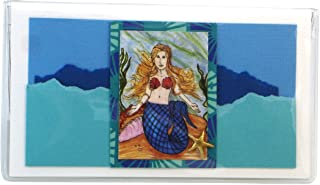 product image for Blue Mermaid Checkbook Cover Made in the USA