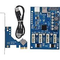 PCI-E 1 tot 4 adapterkaart PCI-E 1X tot 4X PCIe USB3.0 Converter Extender Adapterkaart uitbreidingskit voor WINDOWS voor…