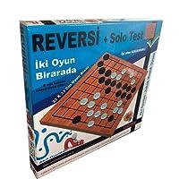 Reversi + Solo TEST, Akıl Mantık Zeka Oyunları, 2 Oyun Bir arada