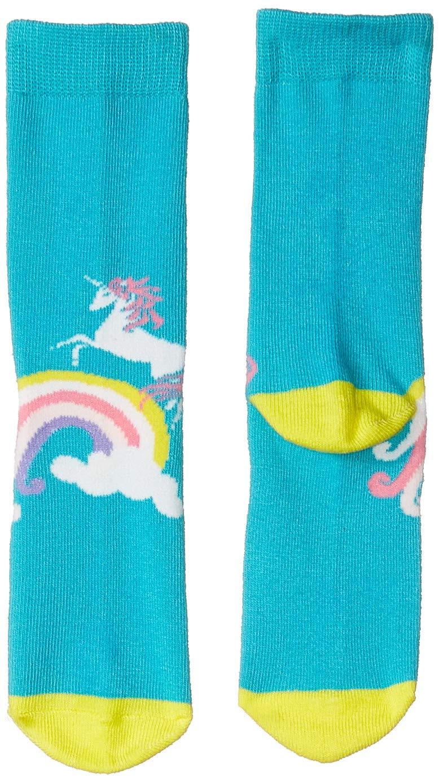 Spotted Zebra Kids' 12-Pack Crew Socks, Unicorn, Small (10-13) by Spotted Zebra (Image #2)