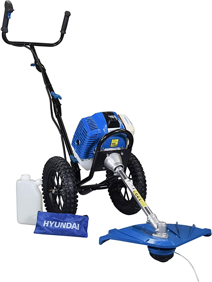Hyundai HYWT5080 Desbrozadora A Gasolina, 1560 W, Azul: Amazon.es ...