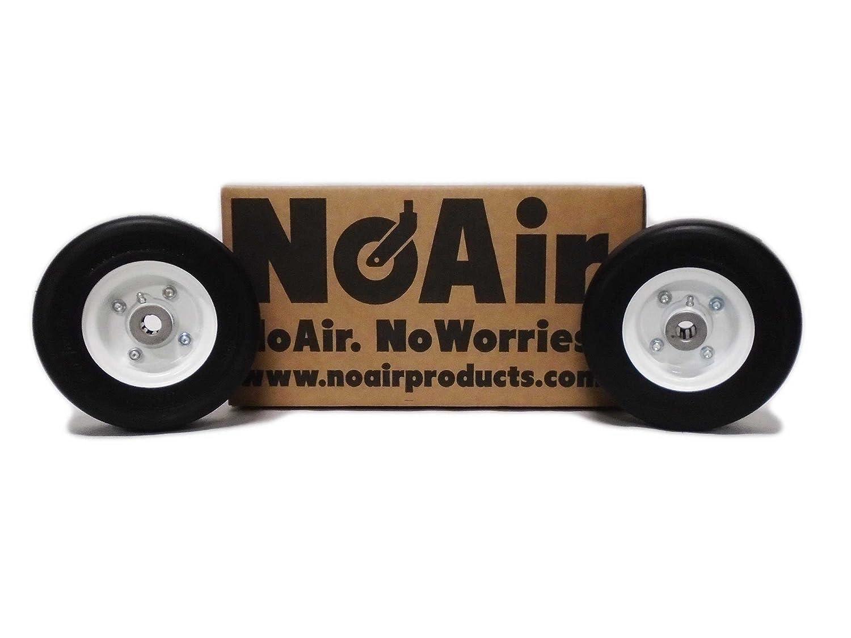 Toro Flat Free Tire Assemblies 8x3.00-4 Toro Commercial Part 13-3869 68-8970 NoAir 2