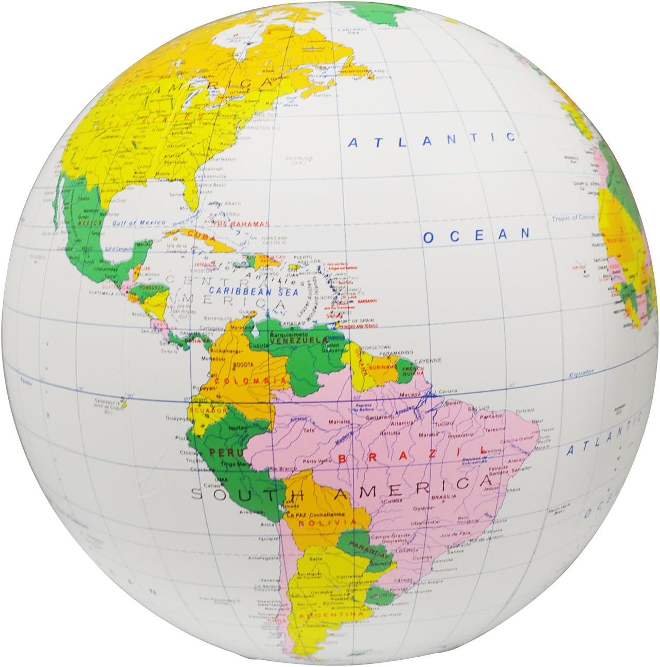 Amazon.com: 16 pulgadas inflable globo Político con Accurate ...
