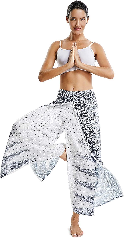 FITTOO Pantaloni Harem Donna Pantaloni Yoga Bloomers Danza del Ventre