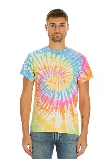 8b641612 Amazon.com: Krazy Tees Tie Dye Style T-Shirts Men Women - Fun, Multi ...