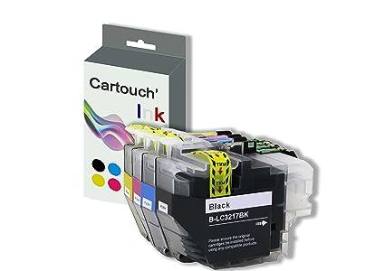 lc3217 Pack de 4 cartuchos de tinta compatibles para impresora ...