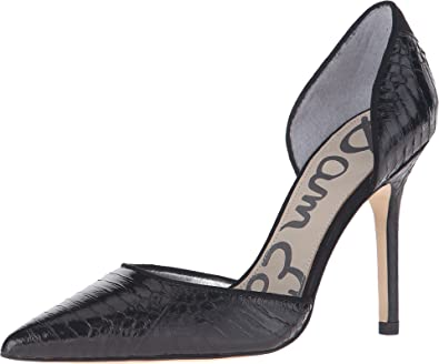 d089419ea Sam Edelman Women s Delilah Black Marble Pump  Amazon.co.uk  Shoes ...
