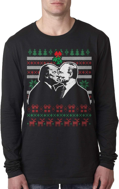 Retta Trump & Putin Kissing Under Mistletoe Ugly Christmas ...