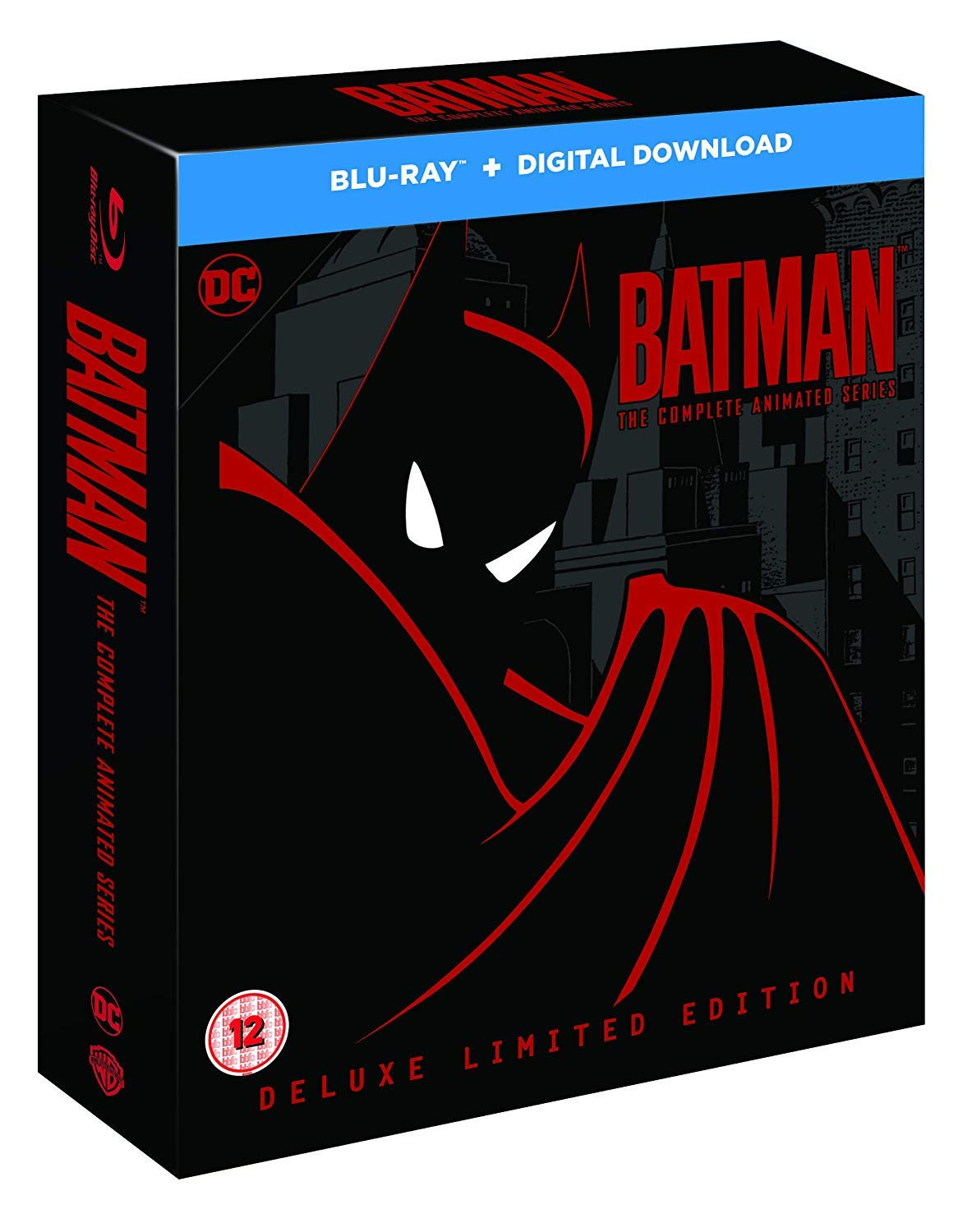 Batman The Complete Animated Series Blu Ray Movies Tv