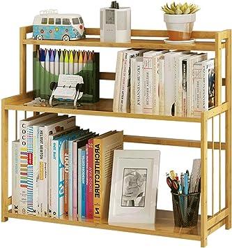 The Worlds First-Desktop Office Home Book Stand Holder Shelf Walnut Wood Desktop Organizer Bookends