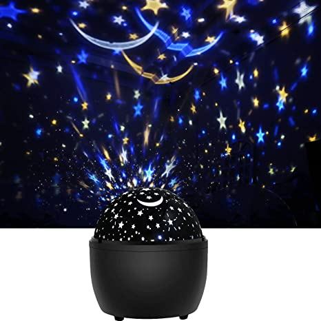 Color Changing Nursery Lamp Gift For Baby Children Boys Girls Bedroom Party Ceiling Decoration Led Starry