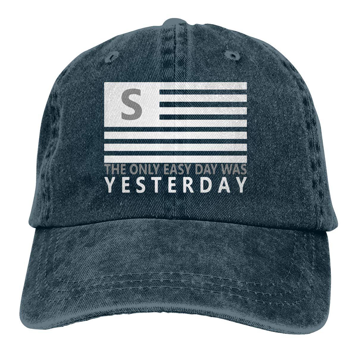 US-Navy Seals Unisex Personalize Jeans Hip Hop Cap Adjustable Baseball Cap