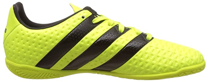 online retailer b9370 13fff Adidas Boys Ace 16.4 in J Syello, Cblack and Silvmt Sports Shoes - 3  UKIndia (35.5 EU) Buy Online at Low Prices in India - Amazon.in