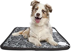 Alayna TM Pet Heating pad for Dogs and Animals Provides a Warm and Soothing Place for Your pet to sit or Sleep During Uncomfortable Chilly Days or Nights, Simple and Safe!