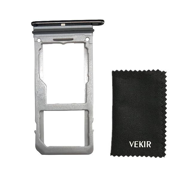 Amazon com: VEKIR Dual Sim Card Tray Replacement for Samsung