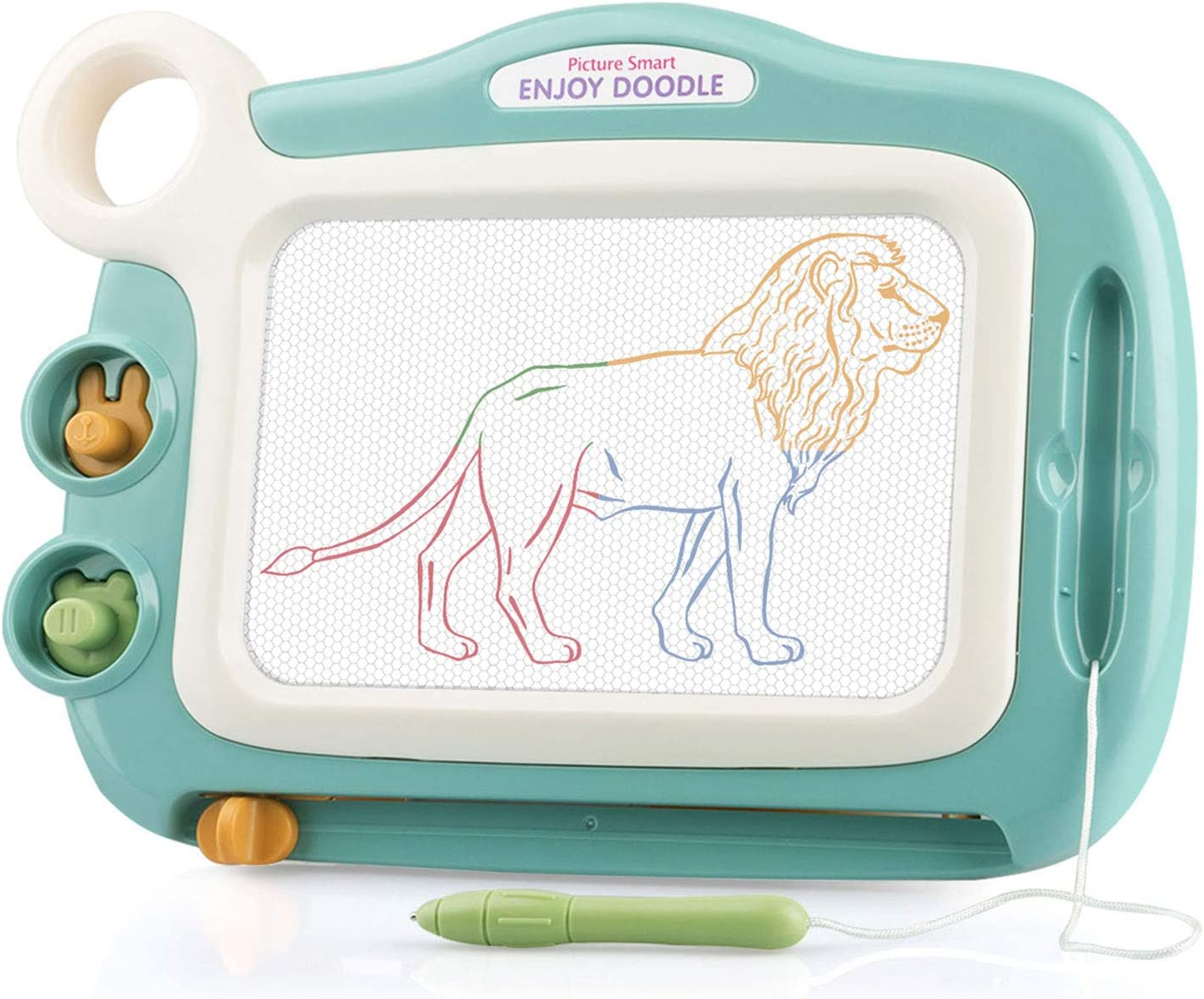 Amazon Com Hongkit Toddler Toys For 18 Month Old Boys Educational Toys For 2 Year Old Boy Gifts Magnetic Drawing Board Toddler Learning Toys Ages 2 4 Gift For 2 Year Old Boy Doodle Board