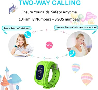Reloj para Niños GPS Rastreador niños reloj de pulsera teléfono ...