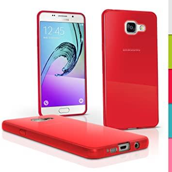 iGadgitz U4653 Funda para teléfono móvil Rojo - Fundas para teléfonos móviles (Funda, Samsung, A5 SM-A510 (2016), Rojo)