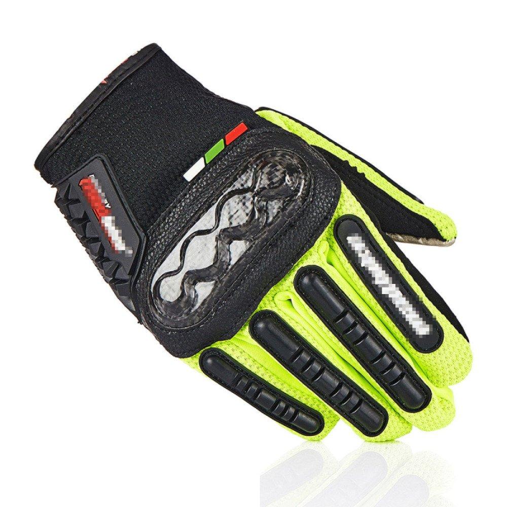 LDFN Anti-Dropping Handschuhe Anti-Rutsch-Touchscreen Für Den Betrieb Fahren Skifahren Skating Klettern Training,Grün-XL
