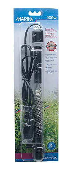 Amazon.com: Hagen Marina Submersible Heater for Aquarium, 200-watt: Pet Supplies