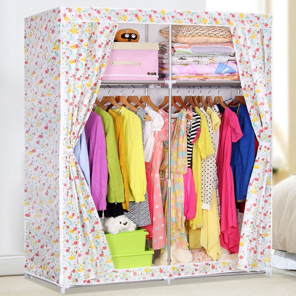 Generic Super Large Clothes Garment Storage Portable Wardrobe Organizer Closet Rack New