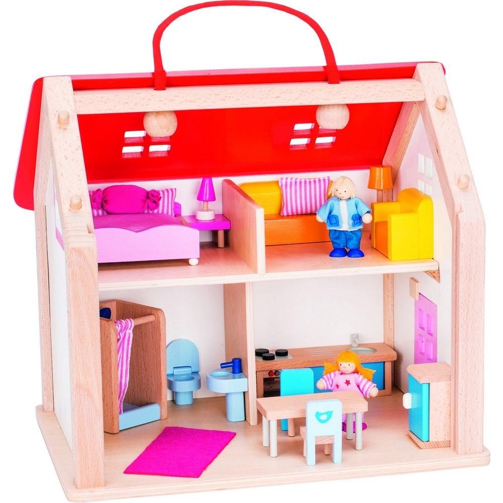 Goki Puppenhaus - Goki Koffer Puppenhaus