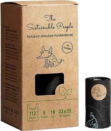 Bolsas para excreciones de perro de TSP, 100 % biodegradables ...