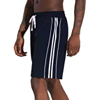 Aibrou Pantalon Corto Hombre Deporte, Pantalones Cortos Chandal Deportivos Verano de Algodón, Deporte Jogger Fitness