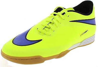 Nike - Nike Hypervenom Phade Ic Zapatos Fùtbol Sala Hombre Amarillo Indoor 599810 - Amarillo, 41: Amazon.es: Zapatos y complementos