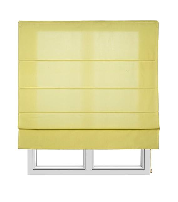 Estores Basic, Stor plegable con varillas, Lima, 75x175cm, estores para ventana, estores plegables.: Amazon.es: Hogar