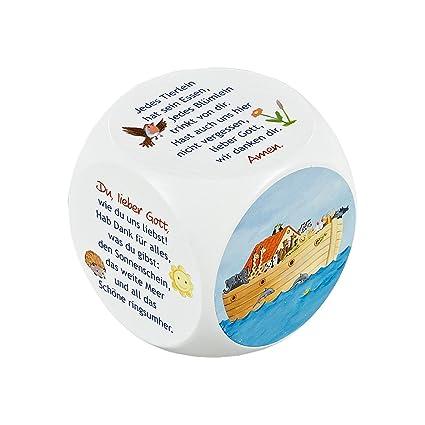 Gebetswürfel Arche Noah Zur Taufe Amazoncouk Toys Games