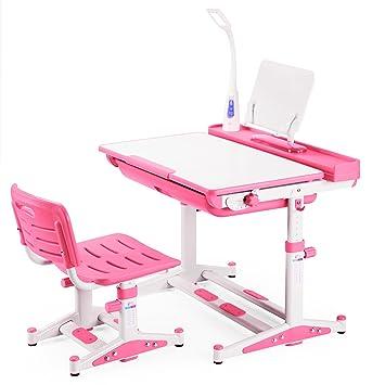 kids desk chair tilt desktop with steel bookstand pink tiger seat