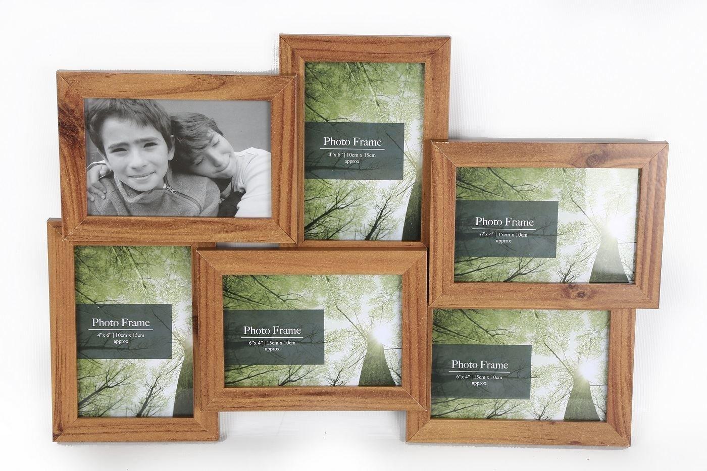 Amazon.de: 6 Mehrere Abbildungen Collage Family & Friends Kiefer ...
