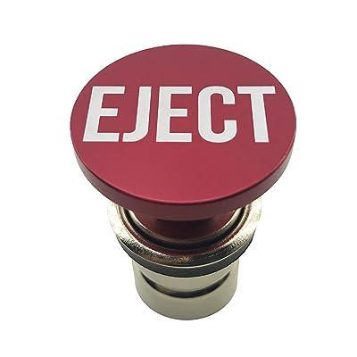 Eject Button Car Cigarette Lighter by Citadel Black - Anodized Aluminum, 12-Volt Replacement Accessory, Fits Most Vehicles, Socket Size A: Automotive