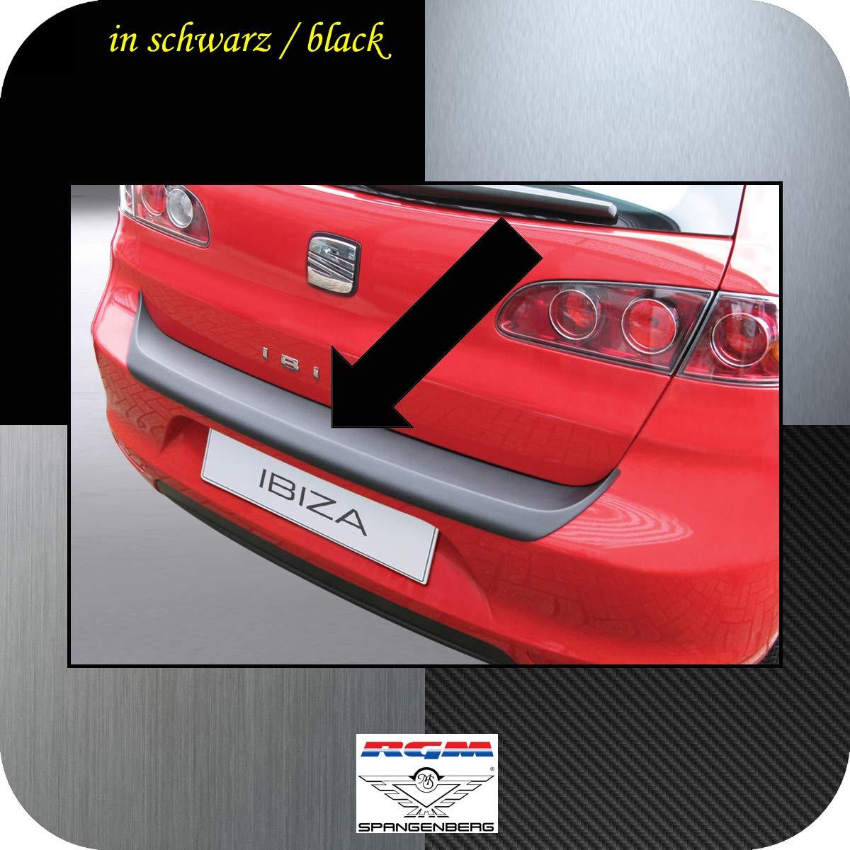Richard Grant Mouldings Ltd. Original RGM ladekant Protección Negro para Seat Ibiza IV Hatchback de 3 y 5 Puertas (6L) Modelos de años 06.2006 - 05.2008 ...