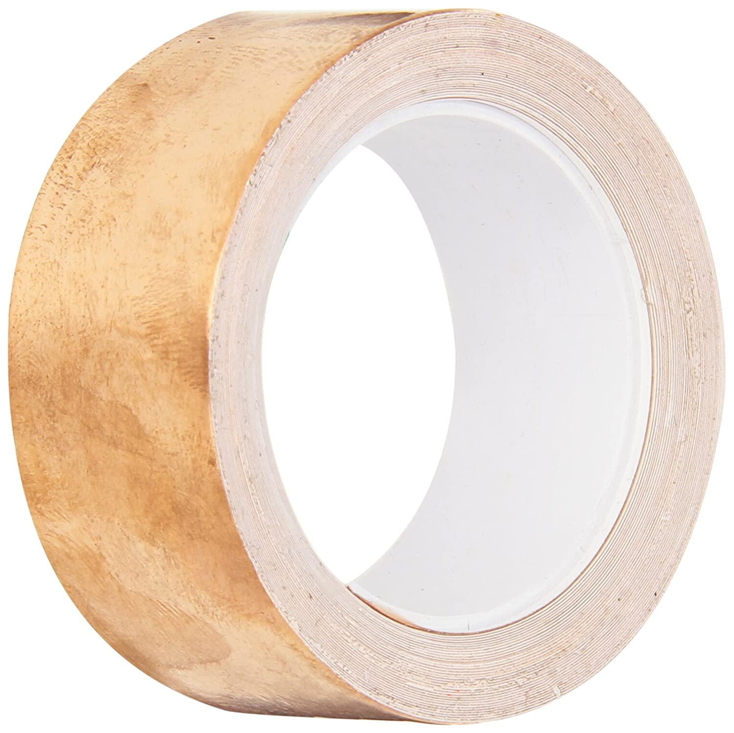 "TapeCase Copper Foil Tape with Acrylic Adhesive, Converted from 3M 1126, 36 yd Length, 3"" Width, Roll"