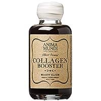 Anima Mundi Plant Based Collagen Booster Elixir - Vegan Beauty Supplement for Skin, Hair + Nails - Herbal Liquid with Fo Ti, Nettle & More (4oz / 118ml)