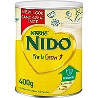 Nestlé NIDO fortified Full Cream Milk Powder Tin, FortiGrow, 400g