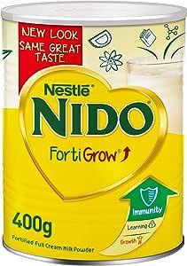 علبة مسحوق الحليب كامل الدسم من نيدو - 400 غرام