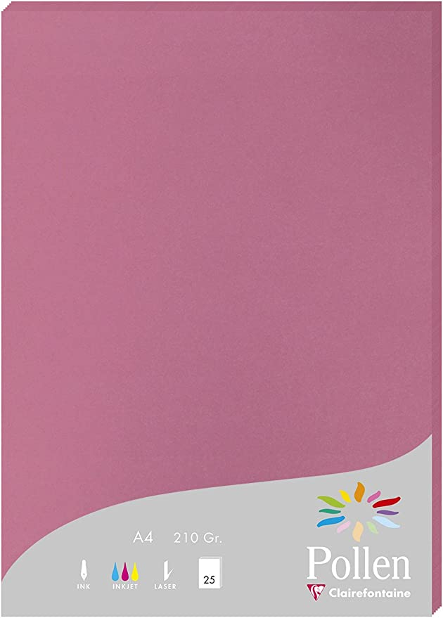21 x 29,7 cm Clairefontaine confezione  da pz 50 Pollen 244267C Carta A4 210 g Camoscio
