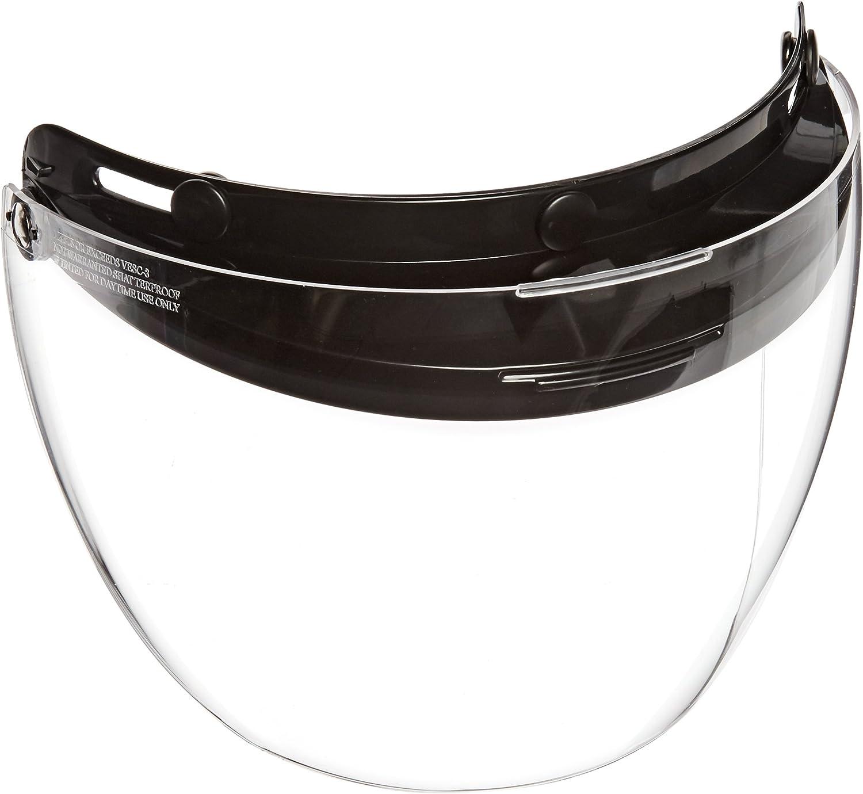 Echo 3 Snap Shorty Shield Universal Adjustable Snaps Open Face or Half Helmet