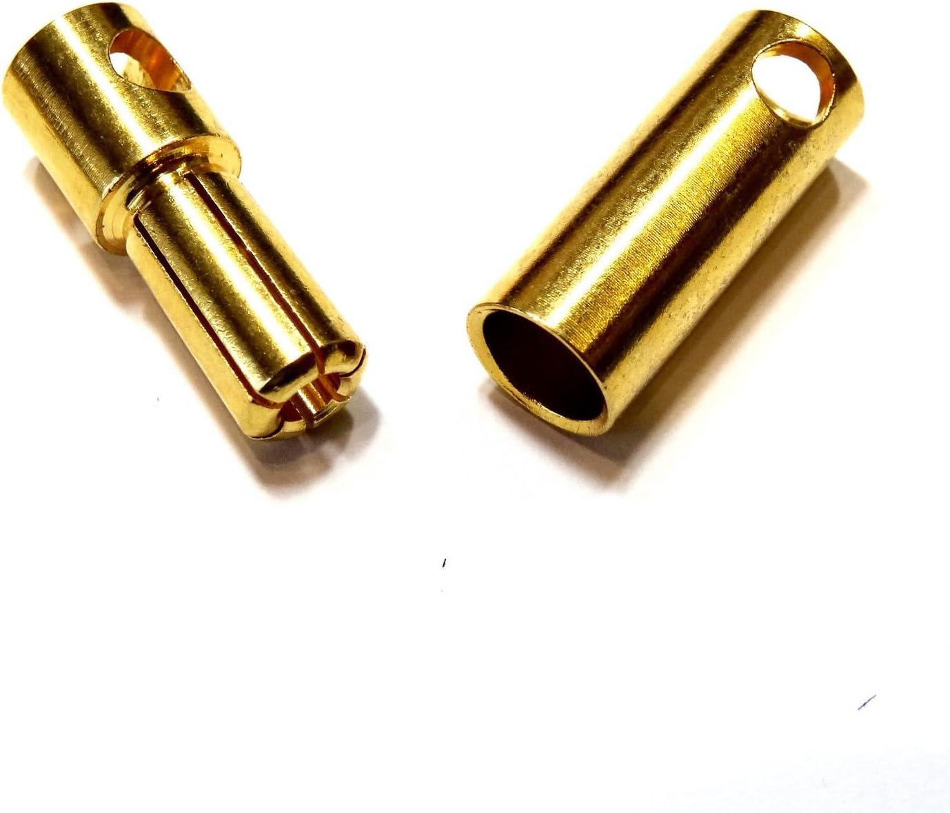 2 Paar 4 Stück Original Amass XT60H Hochstrom Goldstecker XT60 Stecker Buchse