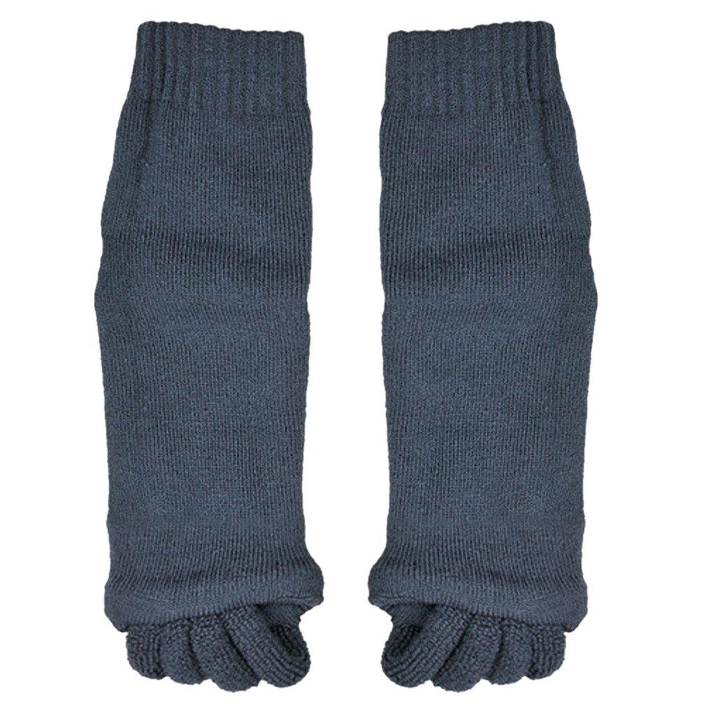 Chaussettes massage pieds relaxation alignement / séparer orteils pr deco - Noir generique