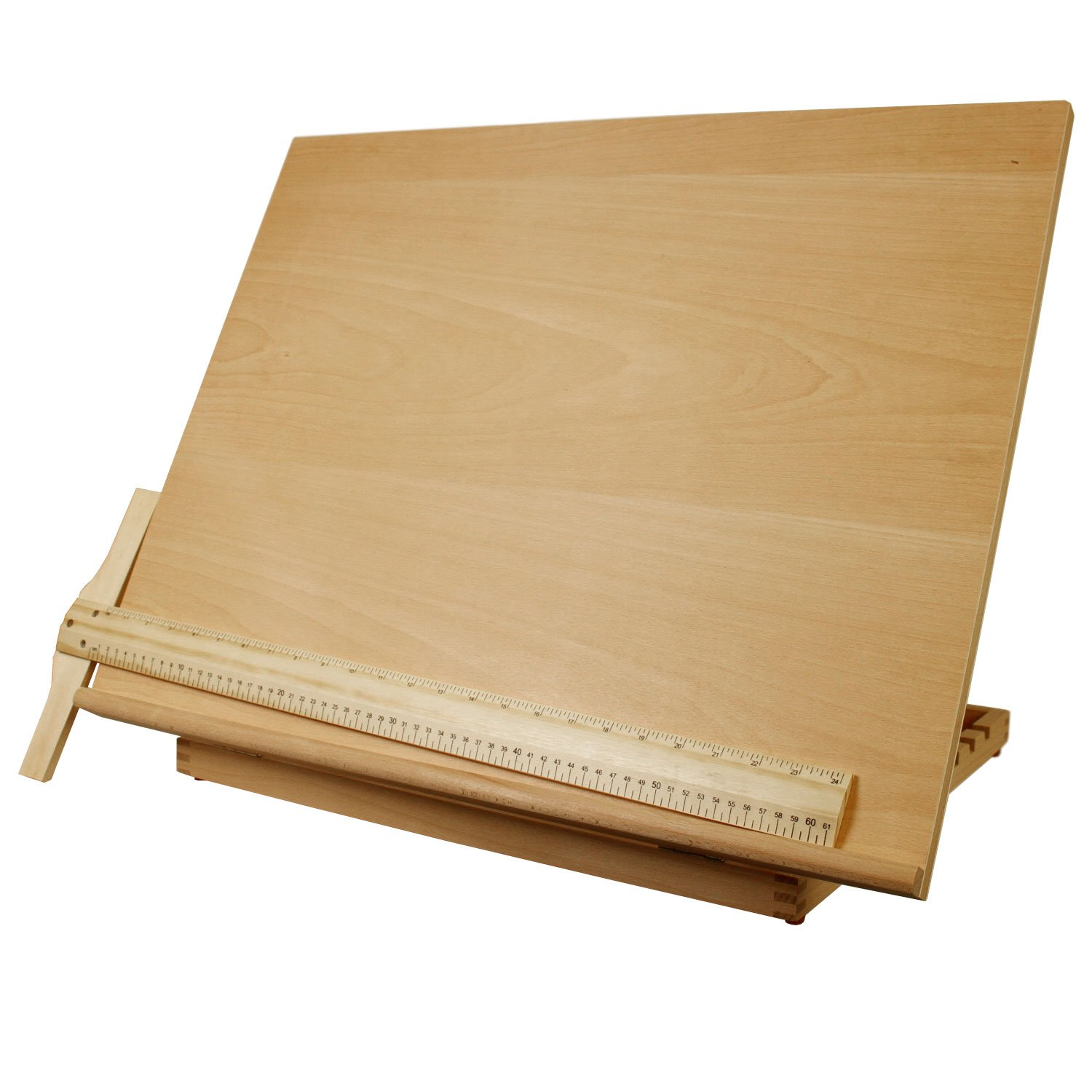 US Art Supply Extra Large Adjustable Wood Artist Drawing & Sketching Board 26'' Wide x 20-1/2'' Tall by US Art Supply