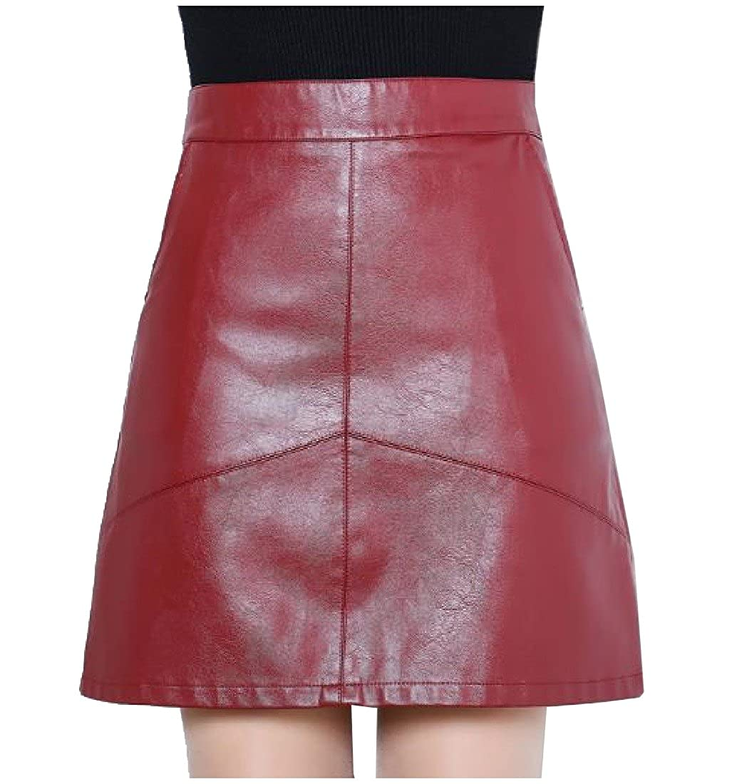 2acb330ce Quilted Faux Leather Pencil Skirt