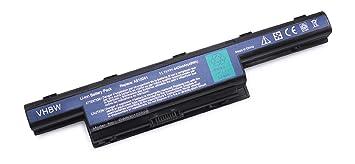 vhbw Akku für Packard Bell Easynote LS-, NM-, NS-, TK-, TM-, TS-, TV-Serie Notebook Laptop wie AS10D31, AS10D3E, AS10D41 - (L