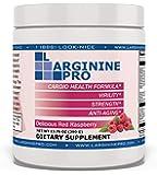 L-arginine Pro, L-arginine Supplement - 5,500mg of L-arginine Plus 1,100mg L-Citrulline (Raspberry, 1 Jar)