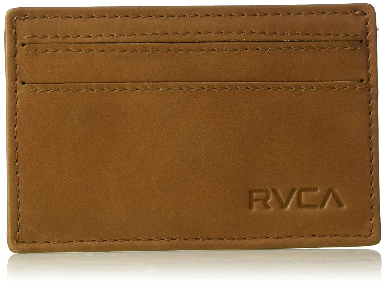 RVCA Men's Clean Card Wallet black One Size MAWAQRCW