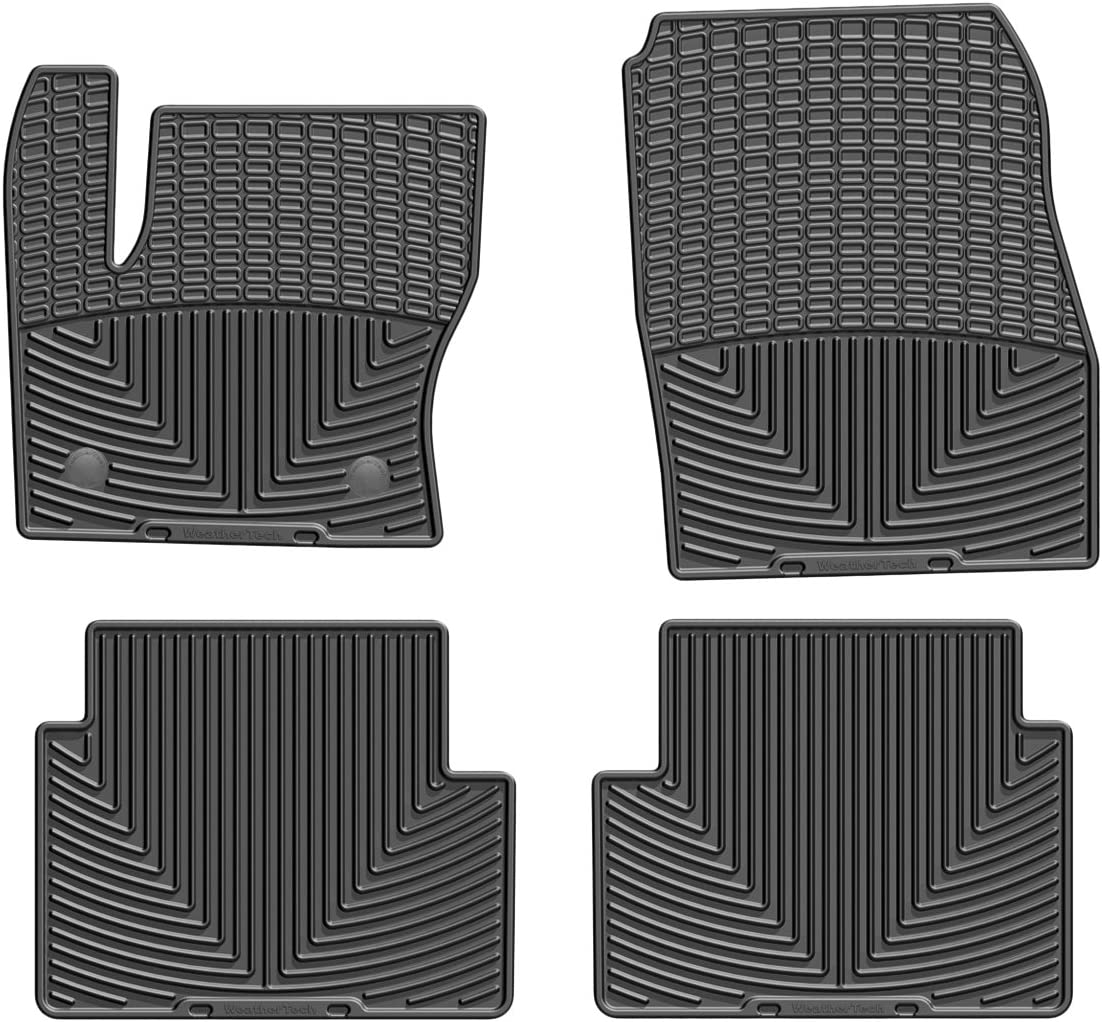 WeatherTech Trim to Fit Front Rubber Mats for Ford Escape Black