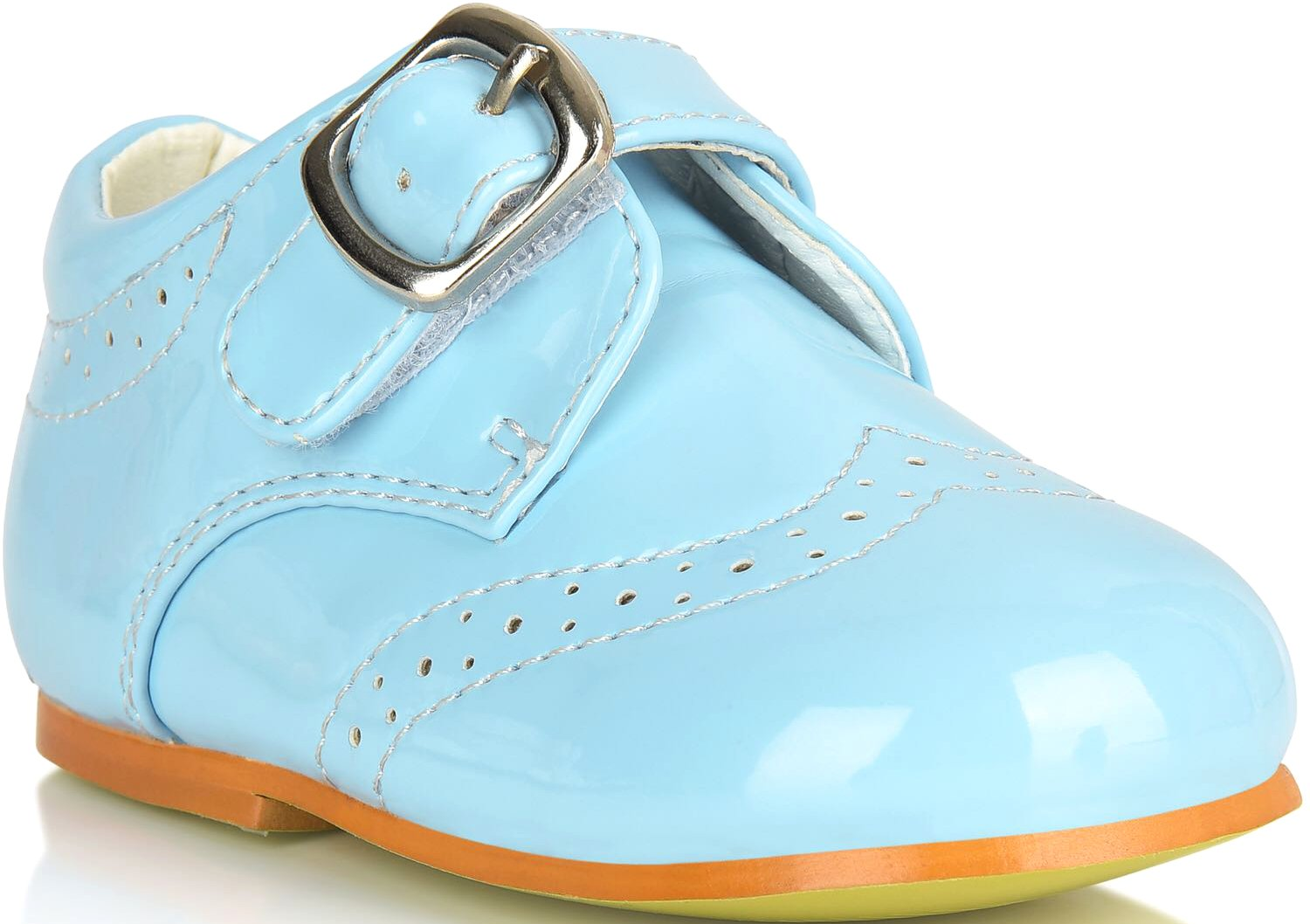 Boys Shoes For Weddings Formal White Smart Buckle Up Christening Size Party Kids Age Size 1 2 3 4 5 6 7 8 Years